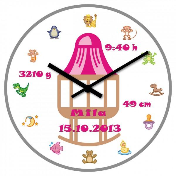 Uhr zur Geburt Mädchen