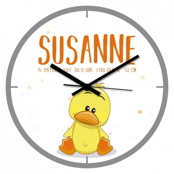 Uhr zur Geburt Susanne