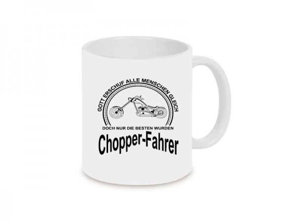Chopper-Fahrer Becher