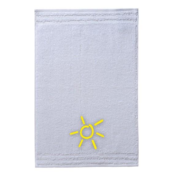 Handtuch mit hochwertiger Bestickung im Grömitz-Design
