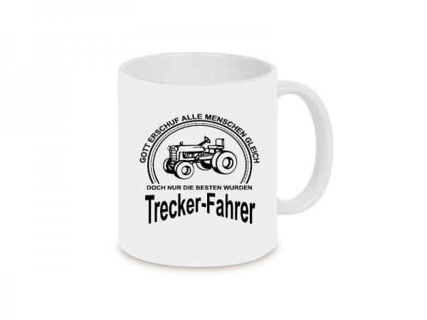 Trecker-Fahrer Becher