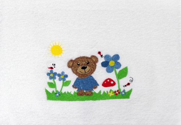 Kinderhandtuch mit Bärenmotiv Vossen