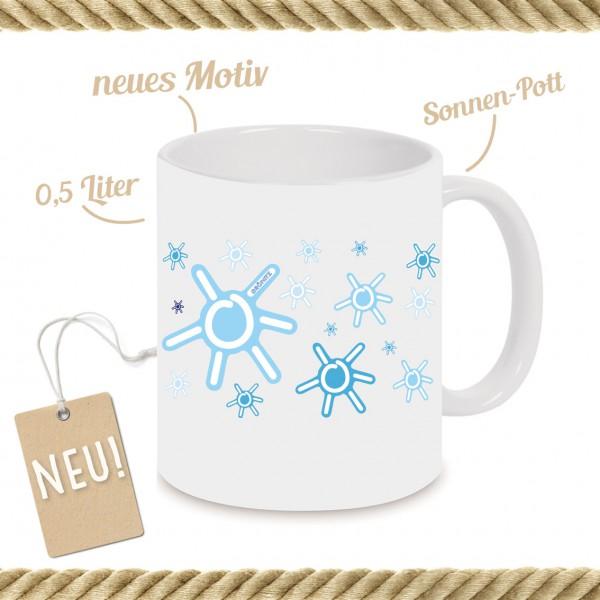 Sonnen-Pott Hellblau NEU!