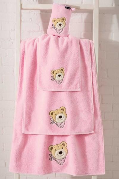 Morgenstern Bär - Waschhandschuh - Rosa