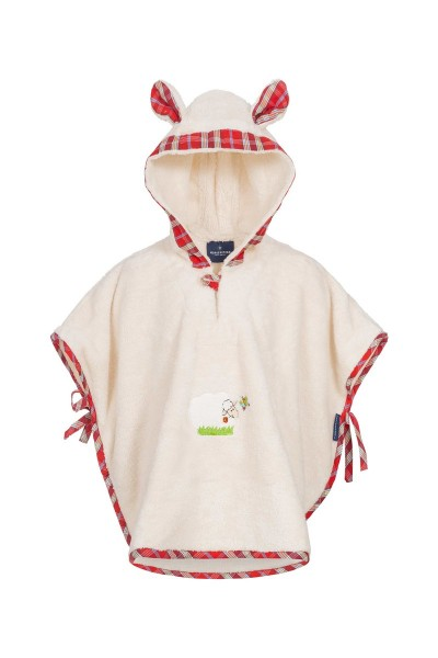 Morgenstern Badeponcho Sleepy Sheepy , natur 1-3 Jahre