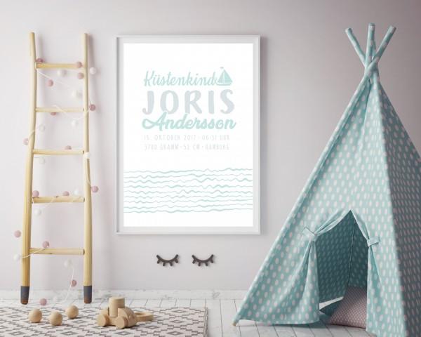 Poster Plakat Geburtstag im individuellem Design A4