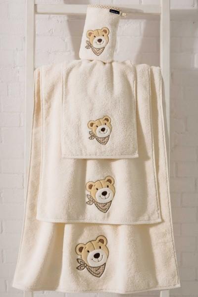 Morgenstern Bär - Waschhandschuh - Creme