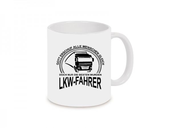 LKW-Fahrer Becher