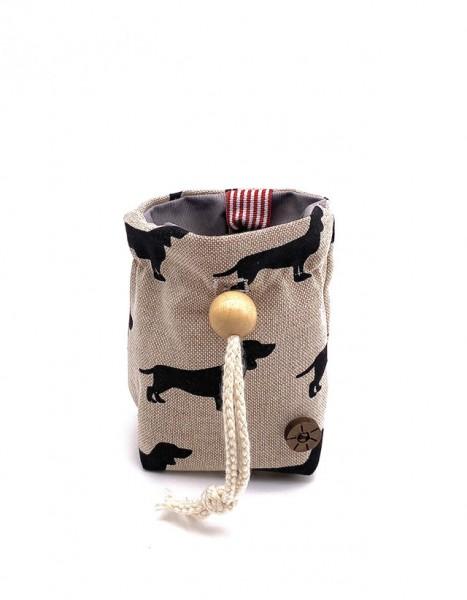 Leckerlibeutel für Hunde - 12 x 12 cm - abwaschbar