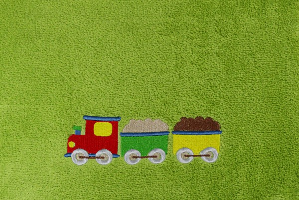 Kinderhandtuch mit Lokomotive Vossen