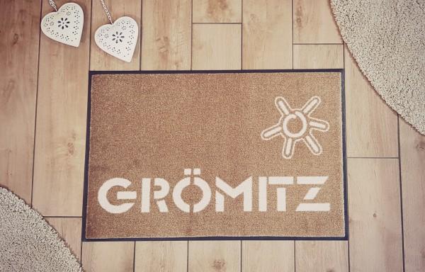 Grömitz - Designmatte waschbar